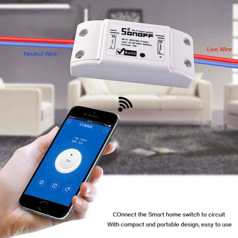 Sonoff Diy Smart Home Wifi Wireless Switch For Apple Android Simple Remote Control Appliances Circuit Diagram The Way That All Of Our Devices And Will Be Networked Together To Provide Us With A Seamless Over Aspects