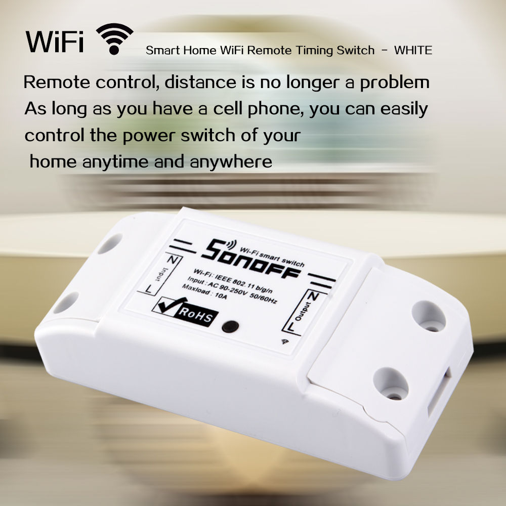 Sonoff Diy Smart Home Wifi Wireless Switch For Apple Android Overview Automation Is The Internet Of Things Way That All Our Devices And Appliances Will Be Networked Together To Provide Us With A
