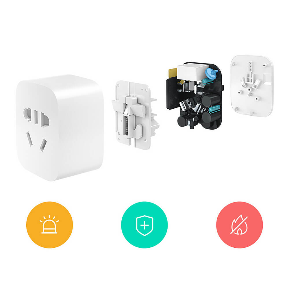 Xiaomi Mi Smart WiFi Socket Intelligent Remote Control Timer Plug for TV  Lamp Electrical Appliances - White